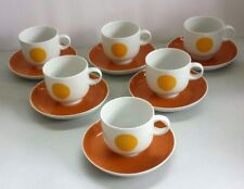 Rosenthal Plus small cups and saucers . Studio -linie .