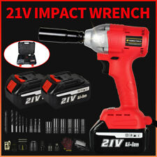 12 21v Brushless Impact Wrench Driver Electric Cordless Tool With Li Ion Battery