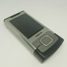 Nokia 6500 Slide - Silver (Unlocked) Cellular Phone See Listing Without battery