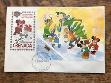 Grenada 1983 Christmas Fdc DISNEY M/S