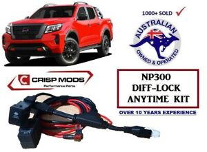 Diff Lock anytime (Over-ride) kit to suit Nissan Navara D23 NP300 2016-2021