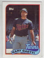 1989 Topps Baseball Minnesota Twins Team Set
