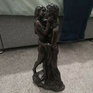 13.5 Inches Resin Bronze Signed & Dated