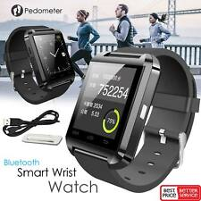 Bluetooth Smart Wrist Watch Phone Mate Band Fit For LG Samsung iPhone Mi Phones