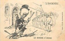 SÉPARATION DE L'EGLISE ET DE L'ETAT le service d'ordre, Risly illustrateur (142)