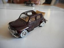 Solido Renault 4 CV in Purple on 1:43