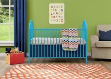 Cosco Prism Metal Crib, Light Blue 5852296PCOM Crib NEW