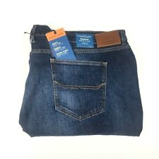 RM Williams Men's Ramco Regular Fit Tapered Stretch Jeans Size W54 X L34
