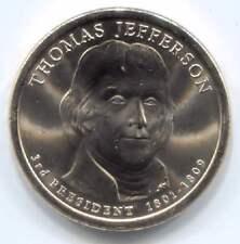 Thomas Jefferson Commemorative U.S. One Dollar Coin 2007 D Denver Mint
