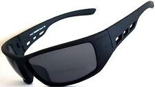 Mens Womens Unisex Black Sunglasses Wrap Around Sport Skiing Biker Modern Style