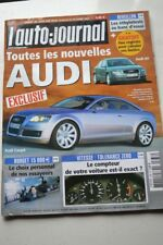 AUTO JOURNAL 636 AUDI A4 GOLF X5 307 HONDA ACCORD LAGUNA MAZDA IBUKI DAKAR 2003