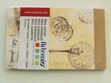 Mini carnet Paris France 11x7cm 30 feuilles Artemio DIY scrapbooking papeterie