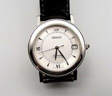Gucci 7400 Auto Automatic Wrist Watch Mens Kinetic Limited Edition Clear Back