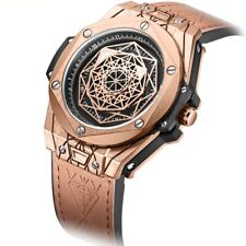 Mens Unique Casual Watches Relojes De Hombre Creative Cool Original Design Watch
