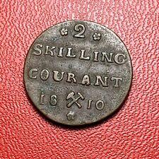#3717 - RARE - NORVEGE 2 Skilling courant 1810 TTB+/SUP - RARE