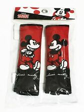 Mickey Mouse 2 pieces Car Seat Belt Shoulder Pads Covers New Disney Accessory #1