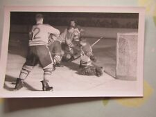 Original Canada 1950's Ice Hockey Action Ice Hockey World Press Photo no 2
