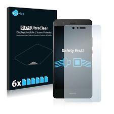 6x Savvies Displayschutzfolie Huawei P9 Lite Schutzfolie klar