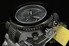 "New Invicta Men's 52mm Pro Diver ""COMBAT SEAL"" Gunmetal/Black Chrono S.S Watch"