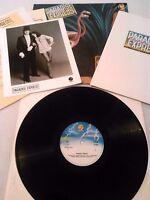 PARADISE EXPRESS - S / T LP 'PROMO' + PRESS KIT & PHOTO EX!!! UK 1ST FANTASY