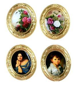 Doll House Accessories - 4 Mini Photo Frames