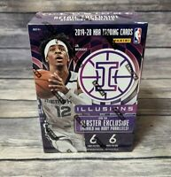 2019-20 Panini Illusions NBA Basketball Blaster Box New Factory Sealed Free Ship