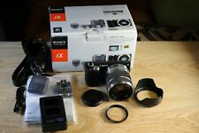 Sony α (alpha) NEX-5N Digital Camera + 18-55mm+ LENS FILTER+ TWEEN CHARGER+ MORE