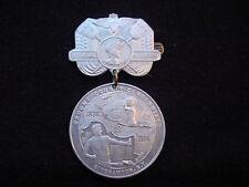 Broome County, New York 1906 Centennial Souvenir Pin Back Medal