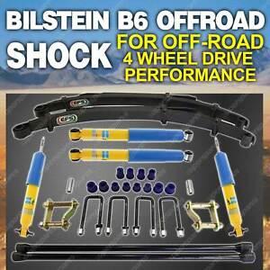 Bilstein Shock EFS Leaf Spring 50mm Lift Kit for Mitsubishi Triton MK 1996-2006
