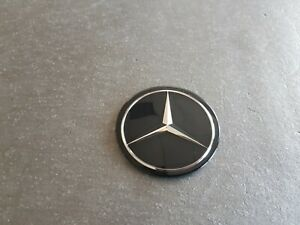 Genuine Mercedes-Benz Steering wheel emblem 55mm W126 R107 W123 W201 A1264640032