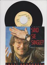 "7"" JOESI PROKOPETZ Sind Sie Single? / So weit weg ex DÖF EMI German-Press 1986"