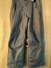 Alpine Design men's Size M snow gray pants gaitor