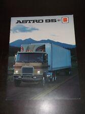 VINTAGE 1974 ASTRO 95 GMC TRACTOR TRAILERS SEMI TRUCKS DEALERS BROCHURE