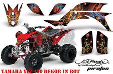Amr racing décor Graphic Kit ATV yamaha yfz 450 04-14 yfz450r Ed-Hardy pirates B