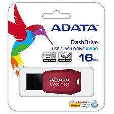 PENDRIVE 16GB ADATA ROJO MEMORIA USB 2.0 16 GB PEN DRIVE NUEVO P1604