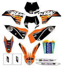 NEW KTM FACTORY ENDURO GRAPHICS SX XC EXC SXF XCW SMR XCF 2007-2011