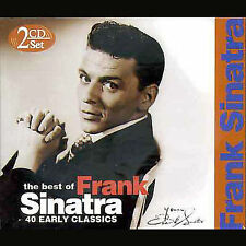 40 Early Classics by Frank Sinatra (CD, Nov-2004, Phantom Import Distribution)