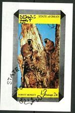 OMAN (Dhufar) - Emissioni locali senza validità postale - 1973 - Scimmia