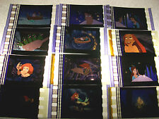 LITTLE MERMAID Film Cell Lot of 12 - animationcollectible compliments dvd poster