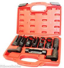 Oxygen Sensor Socket & Diesel Injection 10pc Offset Ratchet Oil Pressure Set New