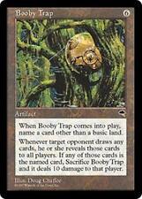 BOOBY TRAP Tempest MTG Artifact RARE