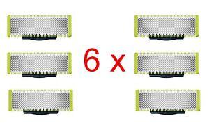 Philips QP230/50 6x Rasierklingen Klingen für One Blade Rasierer 6 Stk NEU OVP !