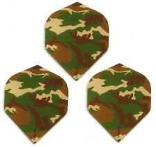 """Ruthless R4X Extra Strong Dart Flights """"jungle camouflage"""""""