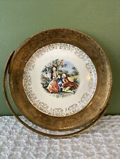 Crest O Gold Sabin Warranted 22K Plate With Handle