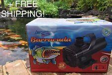 Aquagarden Barracuda 6000 Waterfall/Pond Pump - 3+2 year warranty +FREE SHIPPING