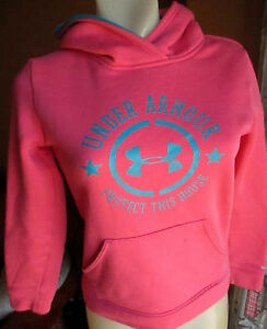 Under Armour YSM/JP/P hoodie in a Hot Pink Sweat Shirt Top LS
