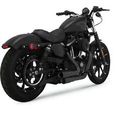 Vance & Hines 46874 Mini Grenades 2-Into-2 Full Exhaust System Black Sportster