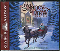 NEW A Nancy Drew Christmas Diaries by Carolyn Keene Audio Book Unabridged 5 CD
