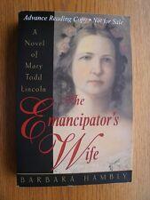 Barbara Hambly The Emancipator's Wife SIGNED 1st SC Fine