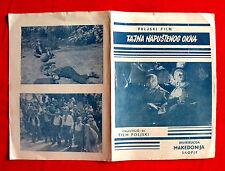 TAJEMNICA DZIKIEGO '56 POLISH DAMIECKI BUSTAMANTE BERESTOWSKI EXYU MOVIE PROGRAM